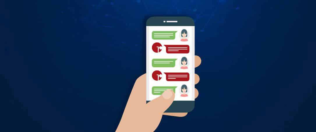 Are you connecting with the customers through Chat Bots?