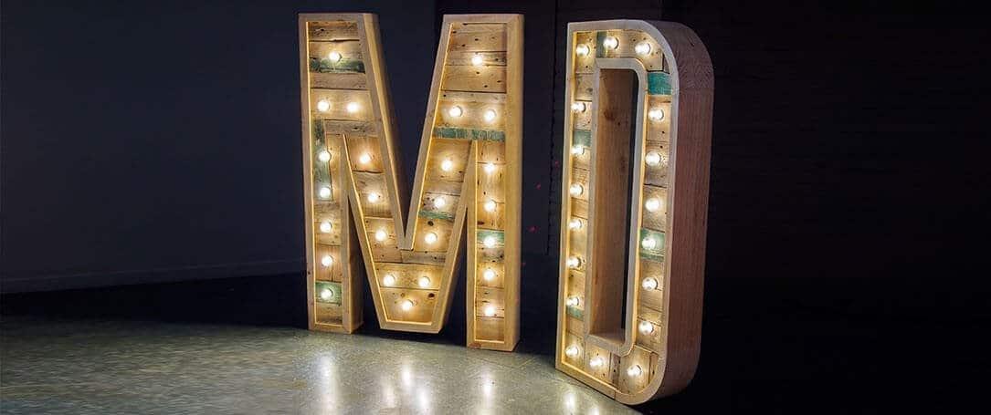 3D Letter signage