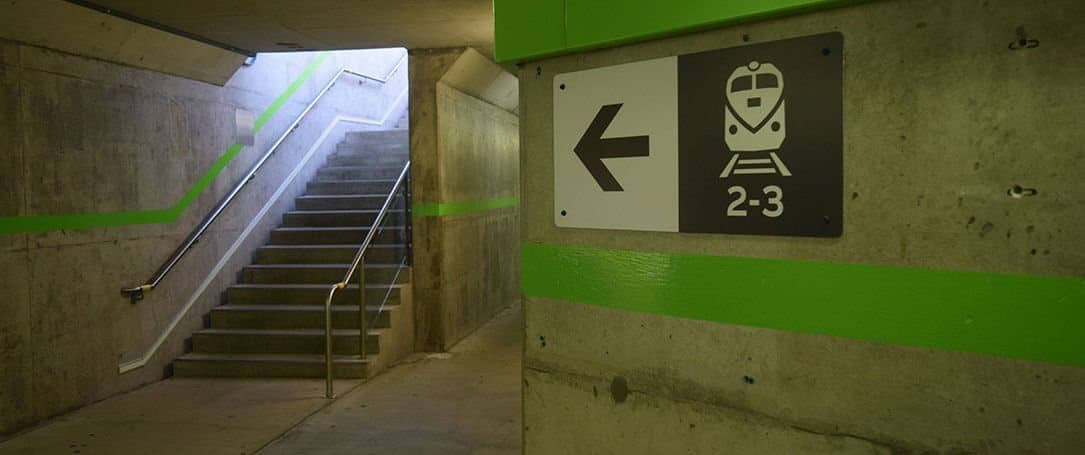 Way finding Signages