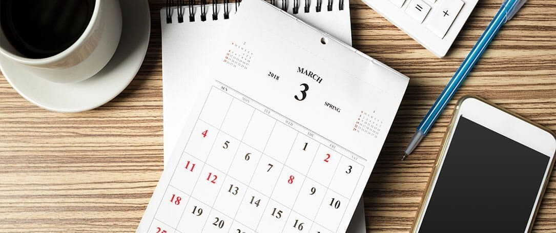 Desktop Calendar Design